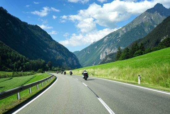 Motorradfahren - Sommerurlaub in Altenmarkt im Pongau
