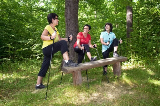 Nordic Walking - Sommerurlaub in Altenmarkt im Pongau